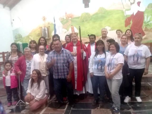 Visita pastoral del obispo
