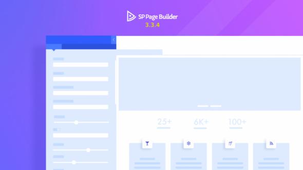 SP Page Builder Pro v3.3.4 – #1 Drag & Drop Joomla! Page Builder