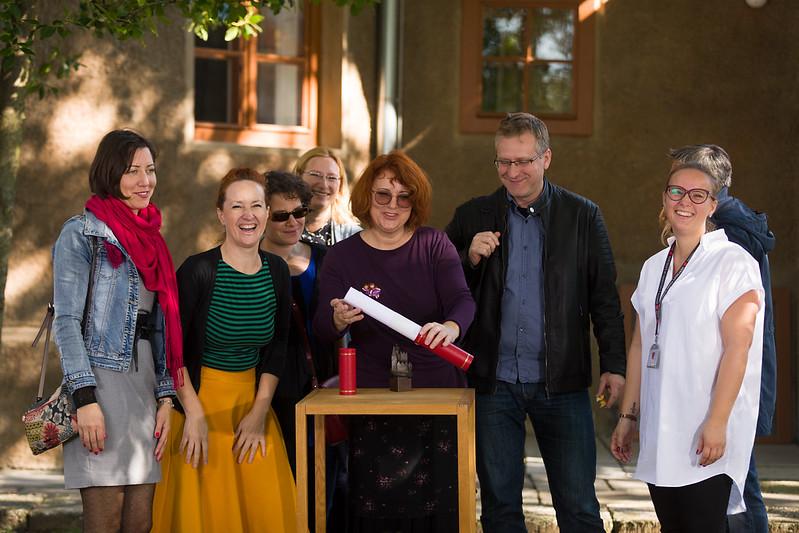 2018 Ceremony for Plečnik House, Slovenia