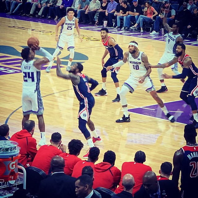 2018 Kings versus Wizards