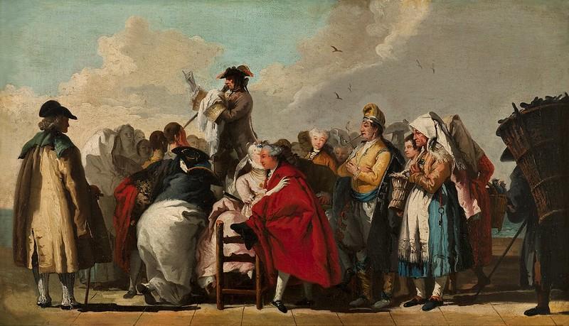 Giovanni Domenico Tiepolo - El charlatán veneciano