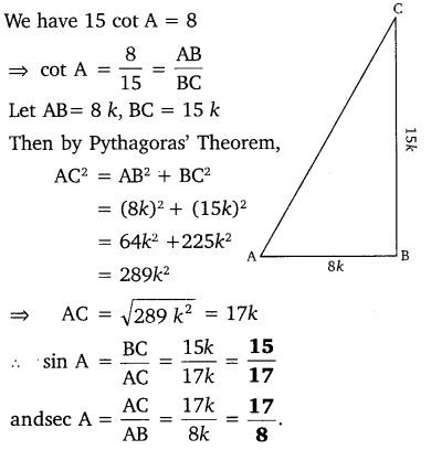 NCERT Solutions for Class 10 Maths Chapter 8 Introduction to Trigonometry 5