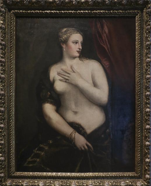 Venere allo specchio, Tiziano Vecellio, 1490-1576
