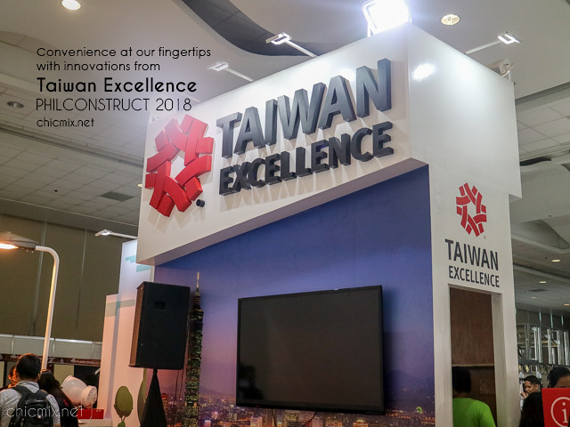 Taiwan Excellence x Philconstruct 2018 : For Convenience and Smarter Cities