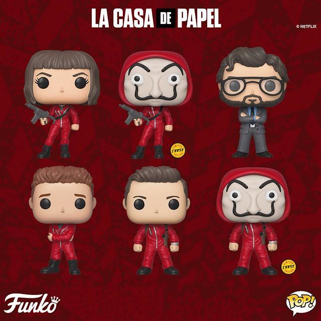 超狂搶劫計畫執行中?! Funko Pop! Vinyl《紙房子》Money Heist (La Casa De Papel)