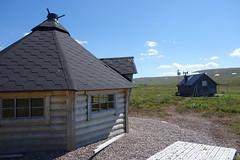 Hågntjärn shelters.