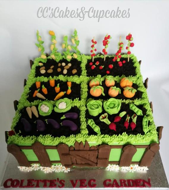 Garden Cake by Cc's Cakes