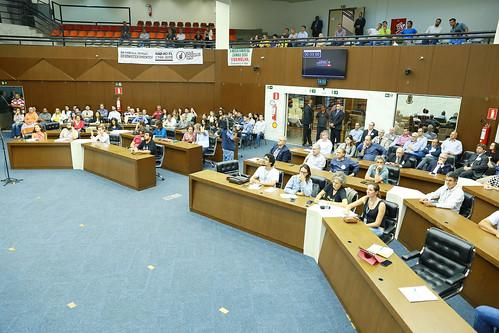 Audiência pública para discutir as emendas apresentadas ao Projeto de Lei nº 1749/2015, que 'Aprova o Plano Diretor do Município de Belo Horizonte e dá outras providências - Reunião Conjunta - Comissão de Meio Ambiente e Política Urbana Comissão de Admini