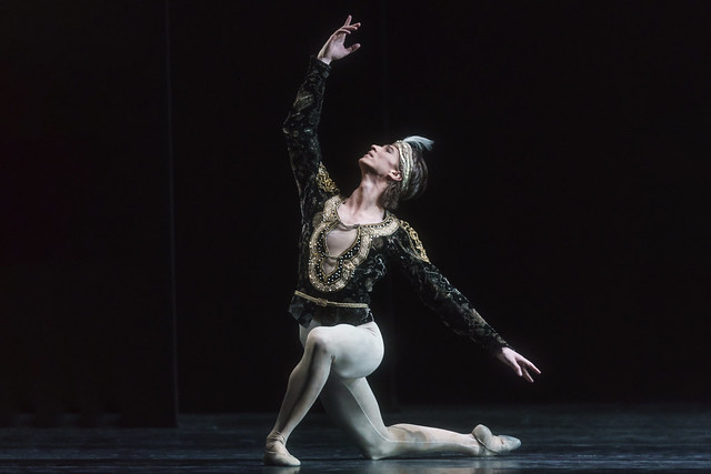 Vadim Muntagirov as Solor in La Bayadère © 2018 ROH. Photographed by Bill Cooper