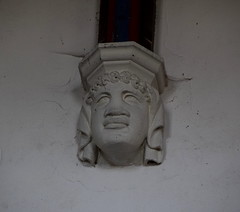 corbel head: negress (19th Century)