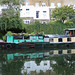 Such a Beautiful Old Boat tied up in Islington
