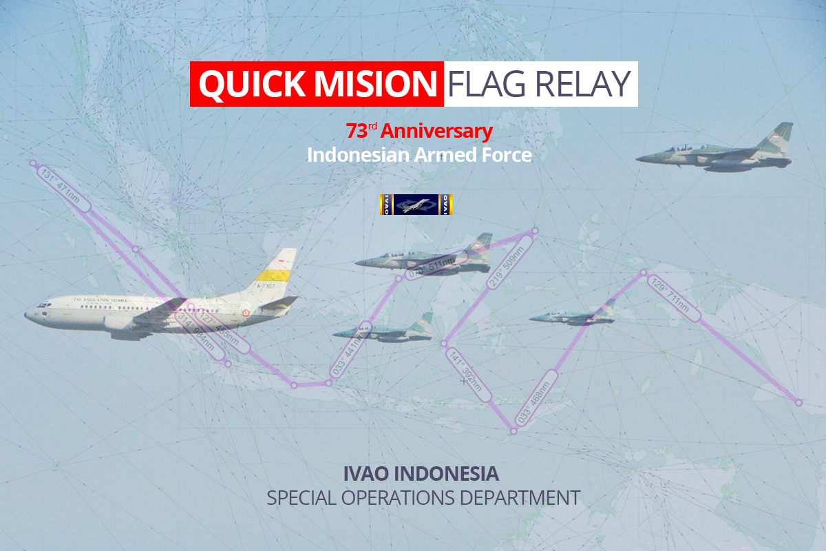 Quick Mission – FLAG RELAY TOUR & ESCORT DUTY