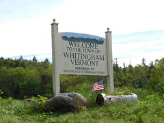 Welcome to Whitingham, Vermont