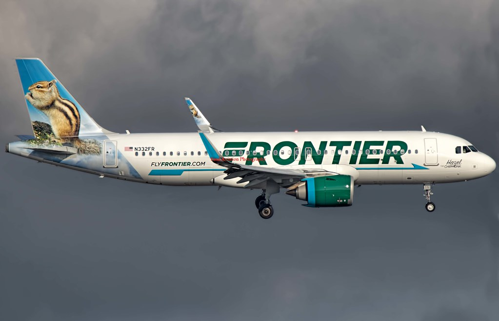 Frontier Airlines Airbus A320-251N N332FR