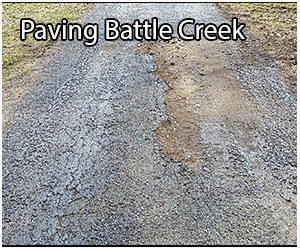 paving in battle creek