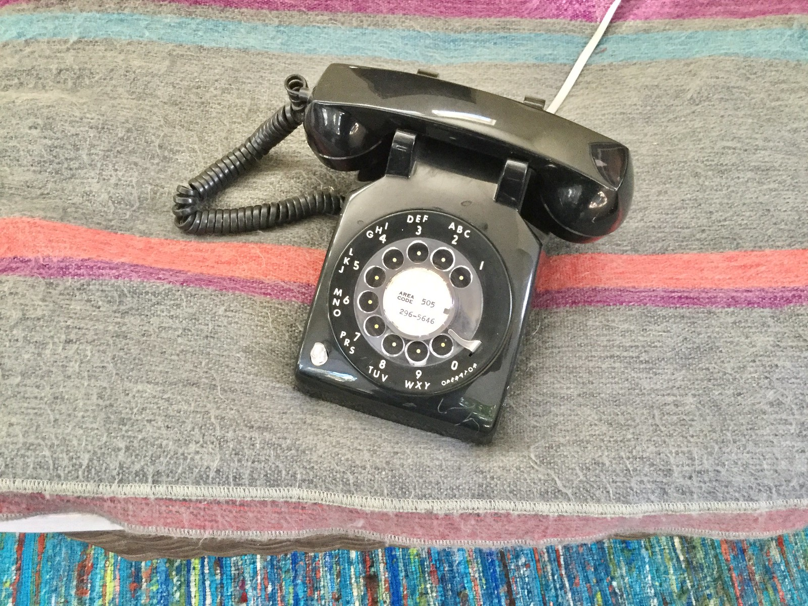 New-in-Box Western Electric Dial Telephone