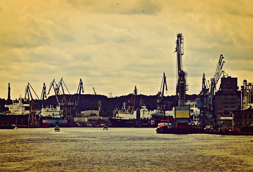 Shipyard harbor