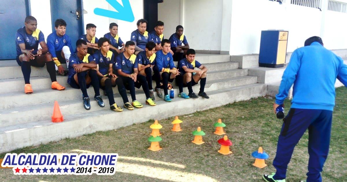 Deportista chonense en la selección del Ecuador