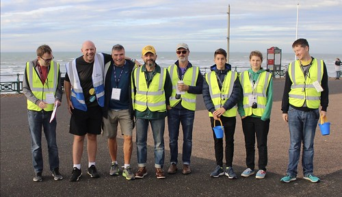 Hove Promenade parkrun (photo credit Peter Bennett)