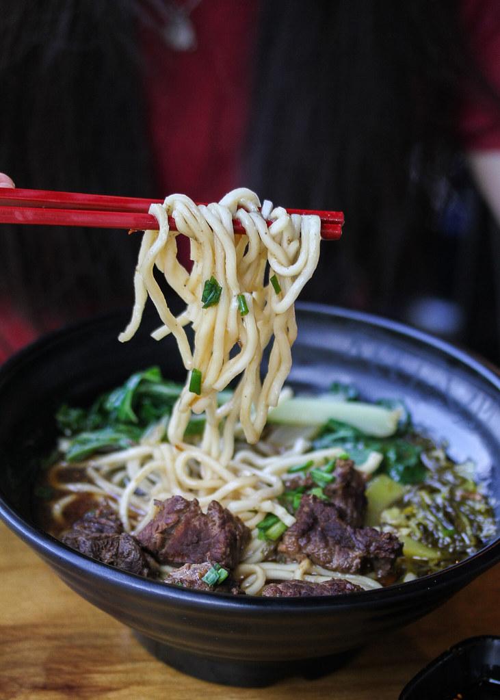 清真台湾街头美食