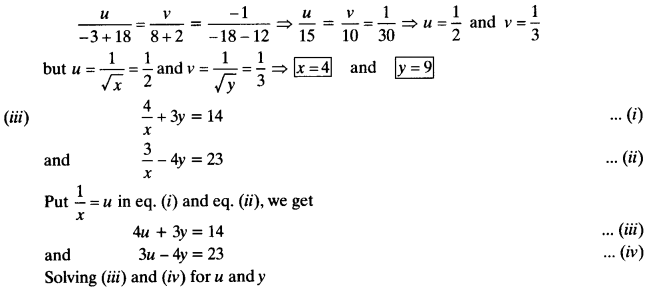 NCERT Solutions for Class 10 Maths Chapter 3 Pair of Linear Equations in Two Variables 74