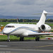 N2MG - 2002 build Bombardier BD700 Global Express, remote to the Signature ramp at Manchester