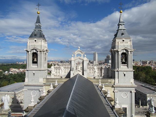 Parte de la Catedral de la Almudena
