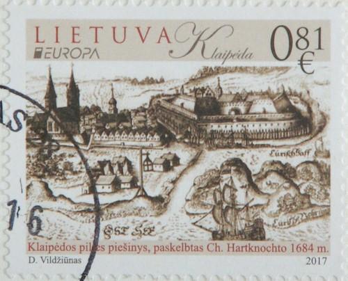 Sello Europa Lituania 2017