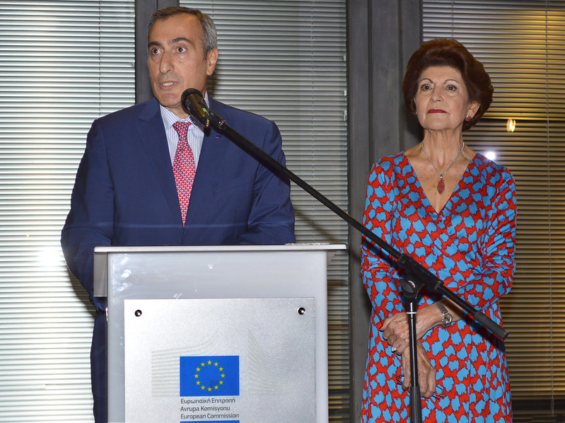 Europanostra CAPACITY BUILDING DAYS 5th ANNIVERSARY of the 7 MOST ENDANGERED Programme Exhibition Reception European Comission Nicosia 20181023 (8)