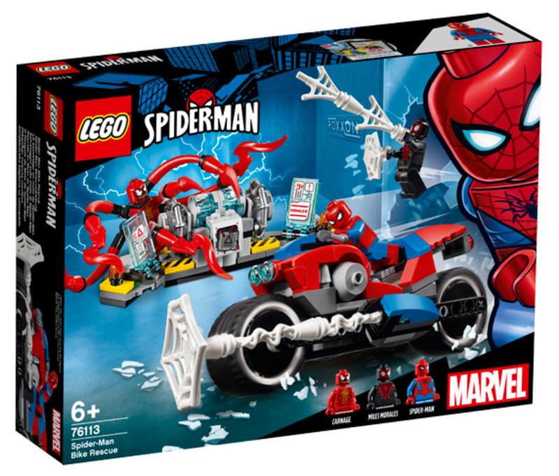 LEGO Spider-Man Bike Rescue (76113)