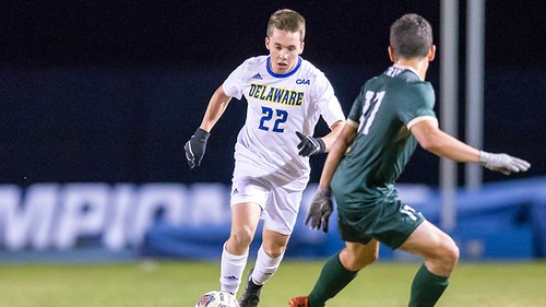 Delaware's men's soccer season comes to an end with CAA tournament loss against William and Mary