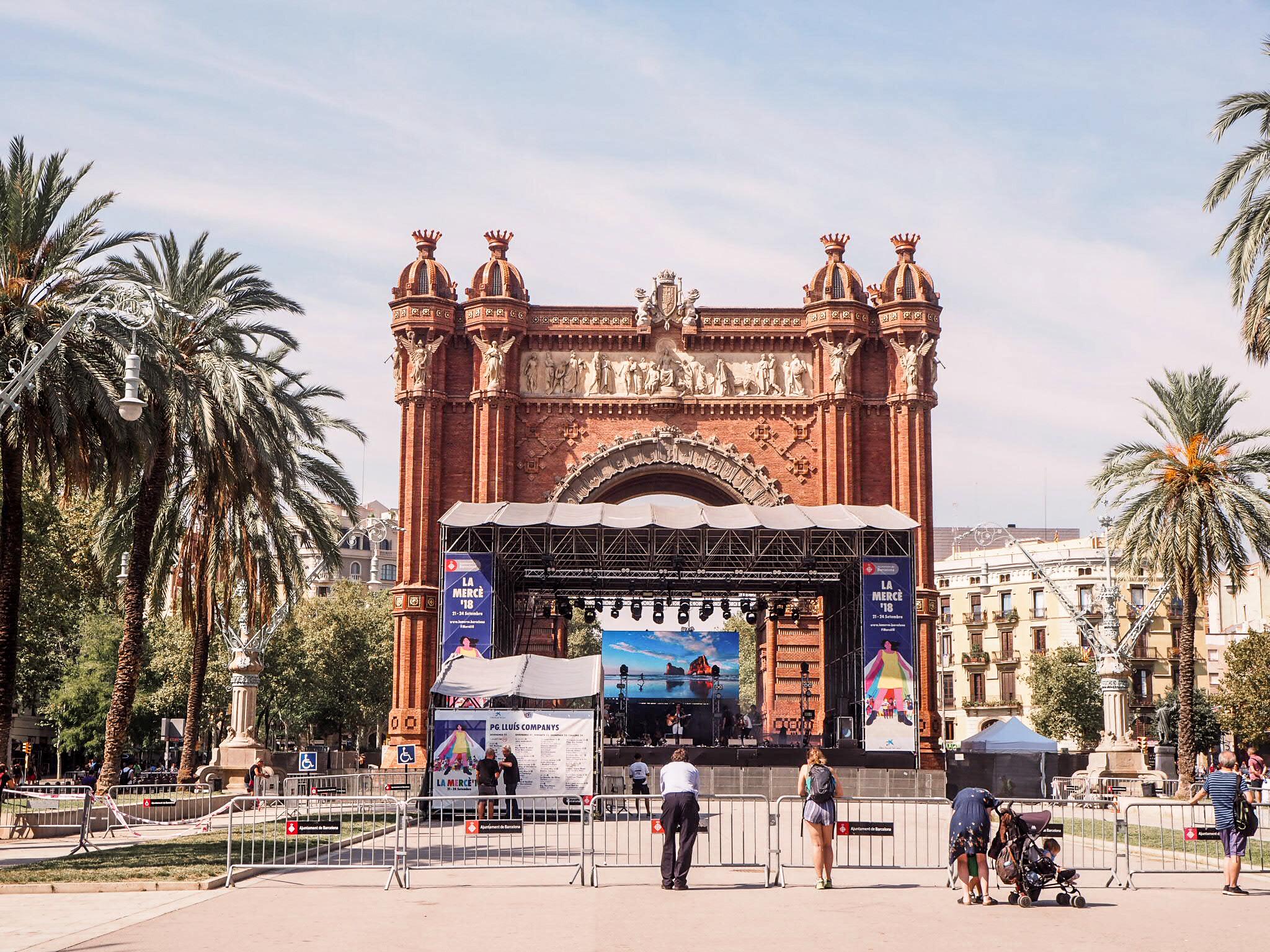 Arc de Triumf Barcelona