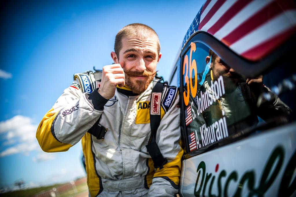 JOHNSTON Sean (DEU), Alexander KIHURANI (USA), Opel Adam R2, portrait during the 2018 European Rally Championship Rally Poland at Mikolajki from September 21 to 23 - Photo Thomas Fenetre / DPPI