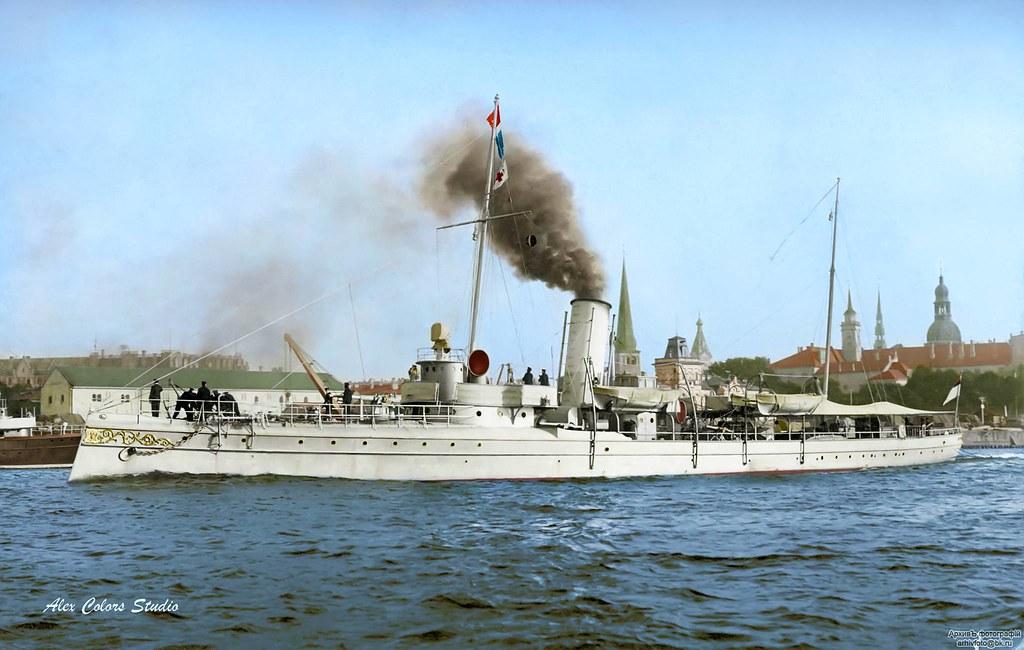 Минный крейсер «Абрек», Рига, 1909-1915 гг.