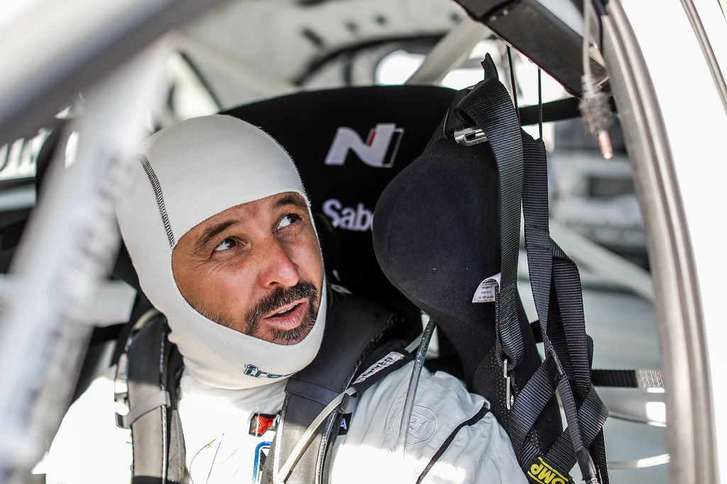 MULLER Yvan, (fra), Hyundai i30 N TCR team Yvan Muller Racing, portrait, during the 2018 FIA WTCR World Touring Car cup of China, at Ningbo  from September 28 to 30 - Photo Marc de Mattia / DPPI