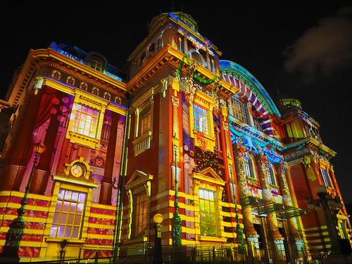 大阪市中央公会堂プロジェクションマッピング