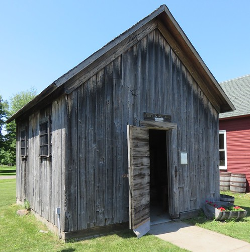 Old Port Wing Town Jail (Port Wing, Wisconsin)