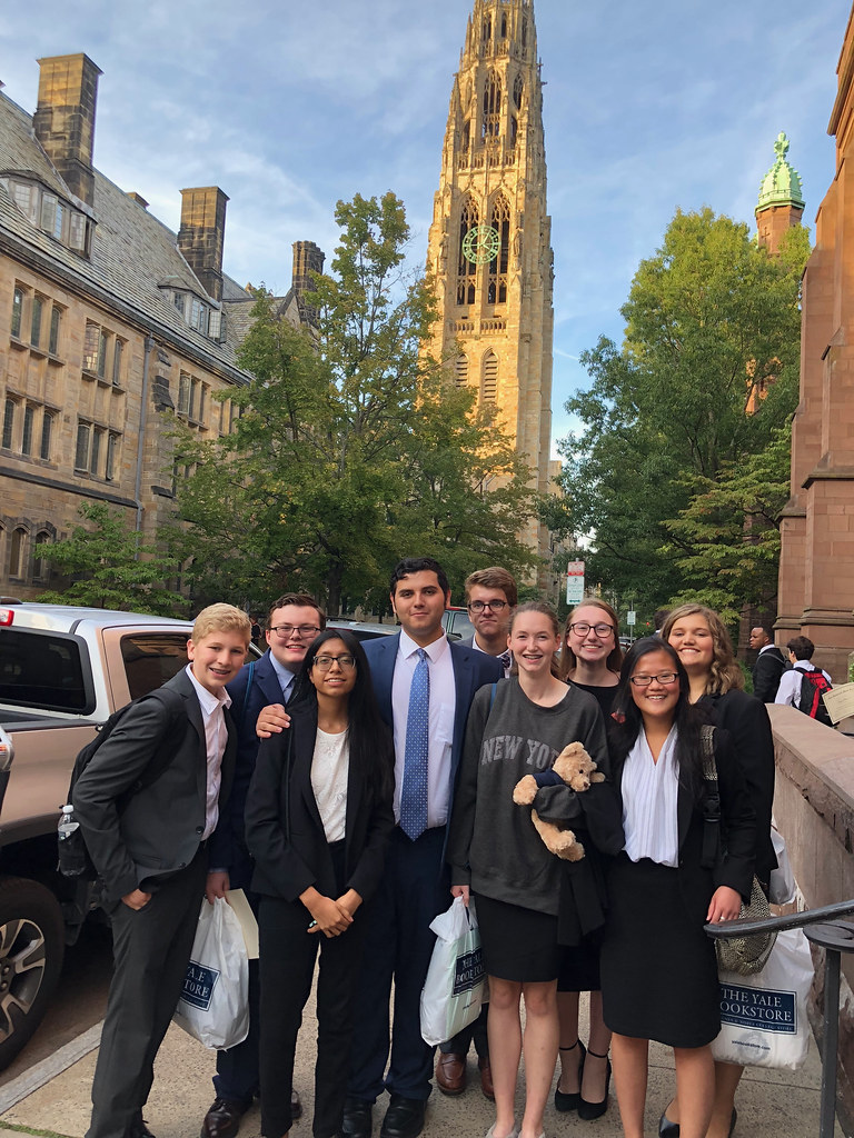 Mock Trial Team attended Yale Bulldog Invitation