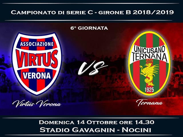 Virtus Verona - Ternana 0-2 FINALE