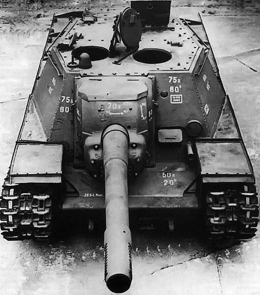 Radziecka 152-mm samobieżna artyleria SU-152