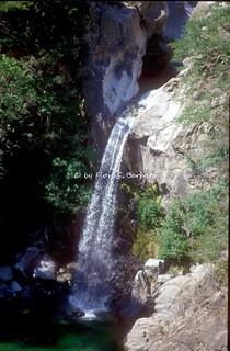 Bivongi (RC), 1997, La Cascata del Marmarico.