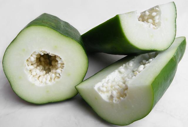 Groene Papaya