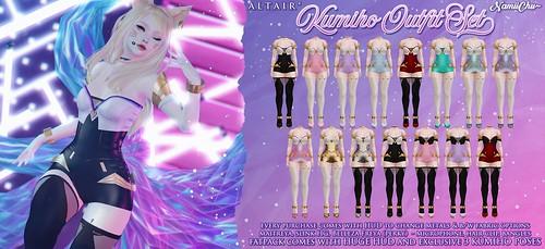 ALTAIR* & NamiiChu ~ Kumiho Outfit Set