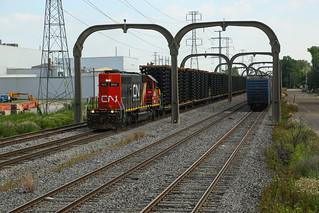 CN 101 @ Allen Park