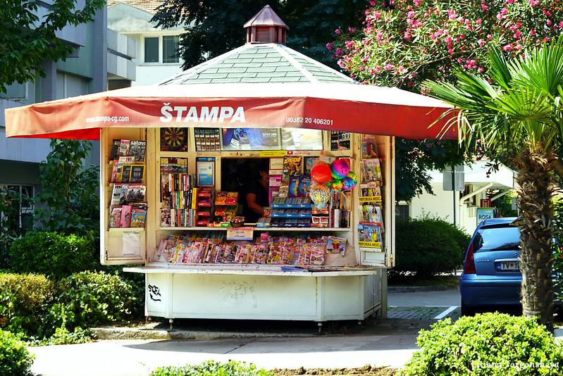 Газетный киоск в Тивате