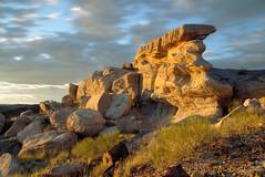 Sundown on the Rocks, Petrified Forest National Park