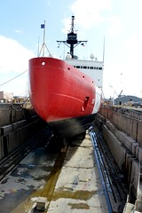 Coast Guard Cutter Polar Star undergoes critical repairs while in dry dock