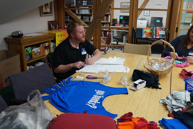 Let's Make: T-Shirt Upcycle event