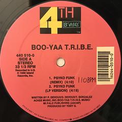 BOO-YAA T.R.I.B.E.:PSYKO FUNK(LABEL SIDE-A)