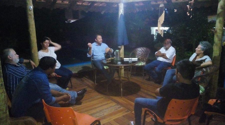 Reunião com representantes da Forest Trends